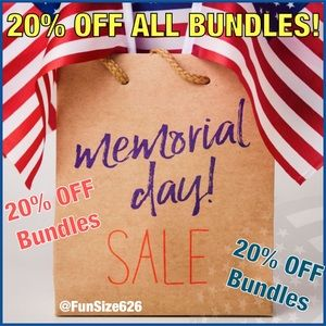 20% OFF ALL Bundles! A LOT OF NEW INVENTORY!